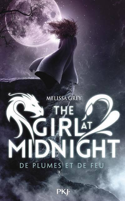Couverture The girl at midnight, tome 1 : De plumes et de feu
