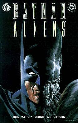 Couverture Batman Aliens, tome 1