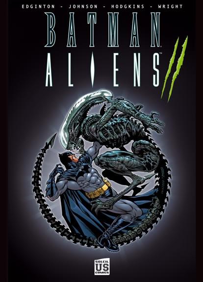 Couverture Batman Aliens, tome 2