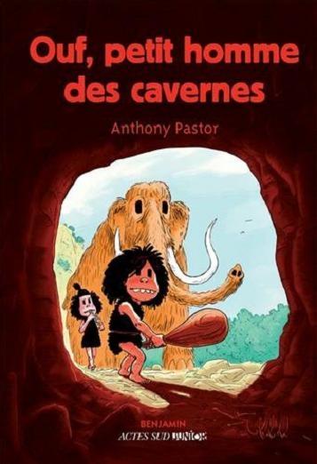 Couverture Ouf, petit homme des cavernes