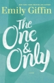 Couverture The One & Only Editions Ballantine Books 2014