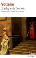 Couverture Zadig / Zadig ou la destinée Editions Folio  (Classique) 2015