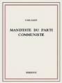 Couverture Manifeste du Parti communiste Editions Bibebook 2013