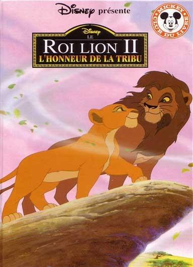 Couverture Le roi lion, tome 2 : L'honneur de la tribu