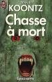 Couverture Chasse à mort Editions J'ai lu (Épouvante) 1990
