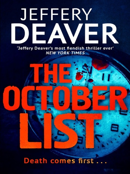 Couverture The october list