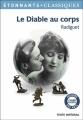 Couverture Le diable au corps Editions Flammarion 2013