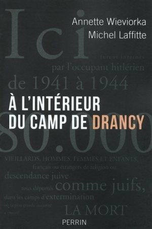 Couverture À l'intérieur du camp de Drancy