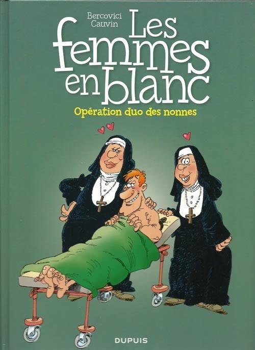 Couverture Les femmes en blanc, tome 18 : Opération duo des nonnes