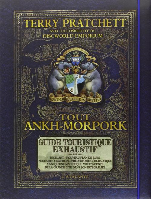 Couverture Tout Ankh-Morpork : Guide touristique exhaustif