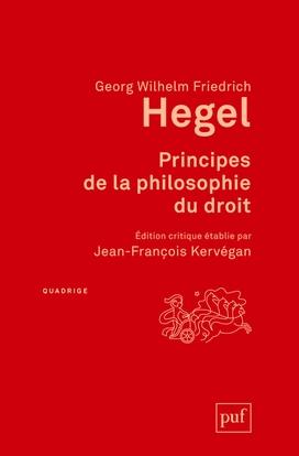 Couverture Principes de la philosophie du droit