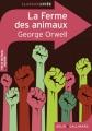 Couverture La ferme des animaux Editions Belin / Gallimard (Classico - Lycée) 2014