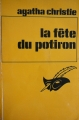 Couverture La fête du potiron / Le crime d'halloween Editions Librairie des  Champs-Elysées  1971