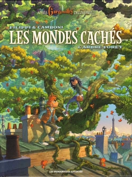 Couverture Les mondes cachés, tome 1 : L'arbre forêt