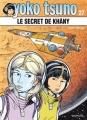 Couverture Yoko Tsuno, tome 27 : Le secret de Khâny Editions Dupuis 2015