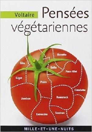Couverture Pensées végétariennes