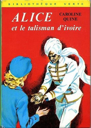 Couverture Alice et le talisman d'ivoire
