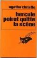 Couverture Hercule Poirot quitte la scène Editions Le Masque 1983
