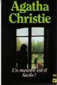 Couverture Un meurtre est-il facile ? Editions Librairie des  Champs-Elysées  (Le club des masques) 1991