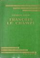 Couverture François le Champi Editions Hachette (Bibliothèque verte) 1933