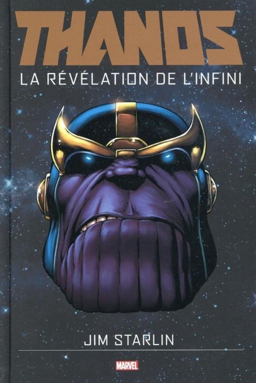 Couverture Thanos : La Révélation de l'Infini