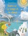 Couverture Fenêtre sur le temps et le climat Editions Usborne 2015