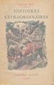 Couverture Histoires extraordinaires Editions Gründ 1935