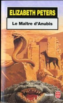 Couverture Amelia Peabody, tome 07 : Le Maître d'Anubis