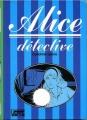 Couverture Alice détective Editions Hachette (Bibliothèque verte) 1955