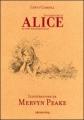 Couverture Alice au pays des merveilles, Alice à travers le miroir Editions Calmann-Lévy 2010