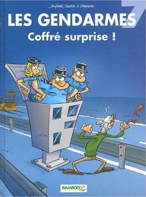 Couverture Les gendarmes, tome 07 : Coffré surprise !