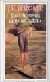 Couverture Trois hommes dans un bateau Editions Flammarion (GF) 1990