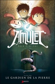 Couverture Amulet, tome 1 : Le gardien de la pierre