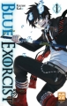 Couverture Blue Exorcist, tome 01 Editions Kazé (Shônen up !) 2010