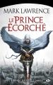 Couverture L'empire brisé, tome 1 : Le prince écorché Editions Milady (Fantasy) 2015