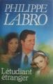 Couverture L'étudiant étranger Editions France Loisirs 1987