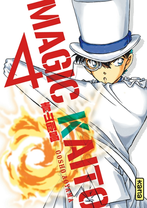 Couverture Magic Kaito, tome 4