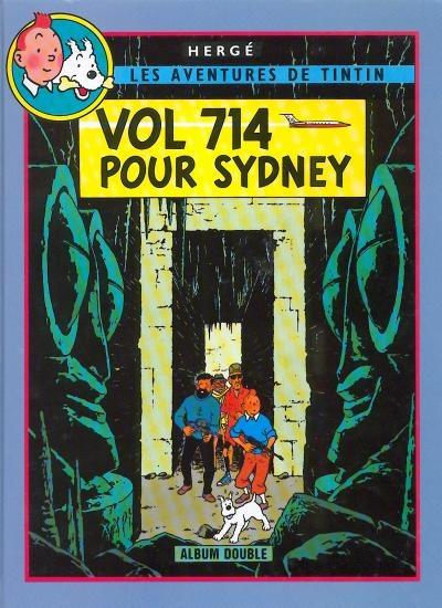 Couverture Les aventures de Tintin (France Loisirs), tome 11 : Vol 714 pour Sydney, Tintin et les Picaros