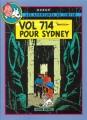 Couverture Les aventures de Tintin (France Loisirs), tome 11 : Vol 714 pour Sydney, Tintin et les Picaros Editions France Loisirs 1988