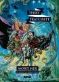 Couverture Les Annales du Disque-Monde, tome 04 : Mortimer Editions L'Atalante (La Dentelle du cygne) 2014
