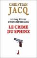 Couverture Les enquêtes de l'inspecteur Higgins, tome 18 : Le crime du sphinx Editions J 2015