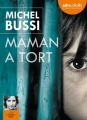 Couverture Maman a tort Editions Audiolib 2015
