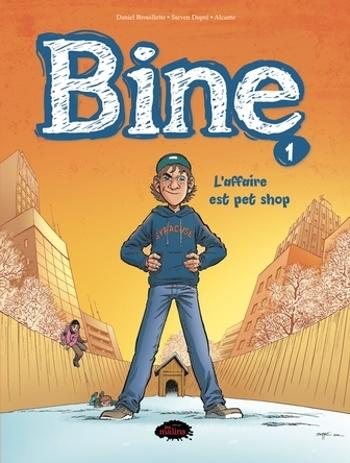Couverture Bine / L'incroyable histoire de Benoit-Olivier (BD), tome 1 : L'affaire est Pet Shop