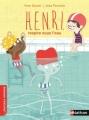 Couverture H.E.N.R.I. respire sous l'eau Editions Nathan (Premiers romans) 2015