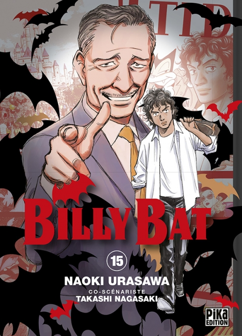 Couverture Billy Bat, tome 15