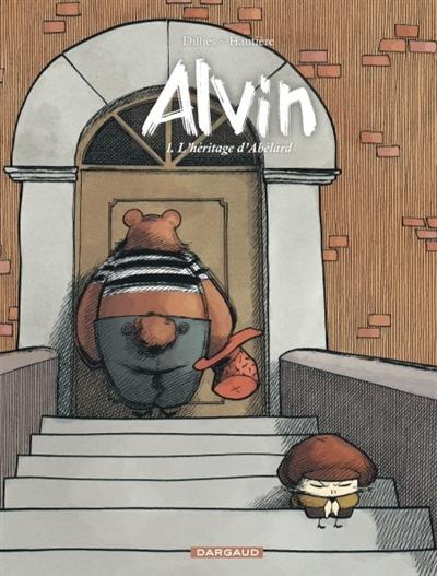 Couverture Alvin, tome 1 : L'héritage d'Abélard