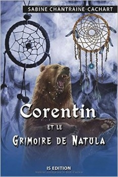 Couverture Corentin et le grimoire de Natula