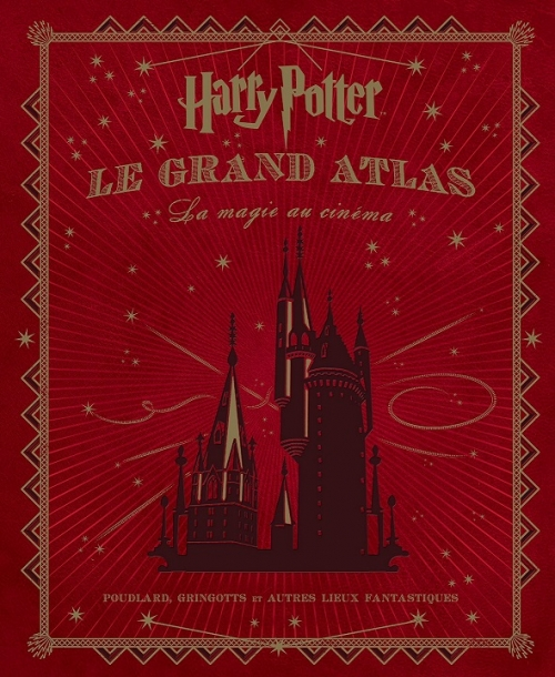 Couverture Harry Potter : Le grand Atlas