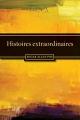 Couverture Histoires extraordinaires Editions Ebooks libres et gratuits 2012