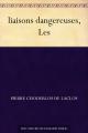 Couverture Les Liaisons dangereuses Editions Ebooks libres et gratuits 2011